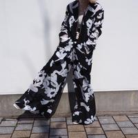 MINJUKIM tuck detail wide pants