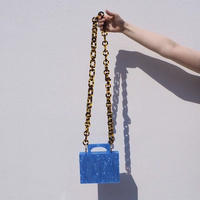 RESPIRO STUDIO  - ALEXA BAG -BLUE