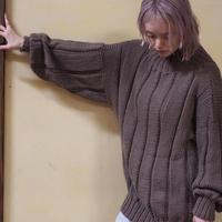 ACCIDENTE CON FLORES - MONICA - handmade knit pullover