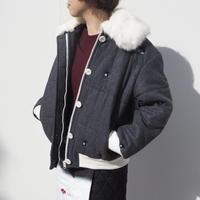 MINJUKIM padding bomber jacket