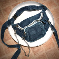 PONY STONE denim bag RIO