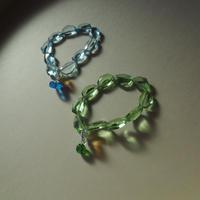Pono'i elastic glass bracelet