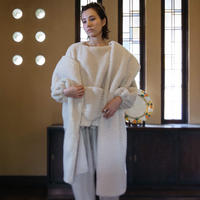 MALKA MOMA sheep pullover & stole set