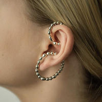 【Mara paris】memories ear cuff set(silver)