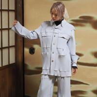 kotohayokozawa pleats jacket