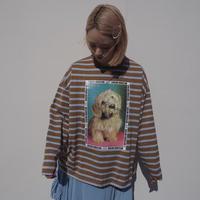 SIIILON mix dog club long sleeve T-shirt