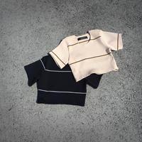 SHIROMA Rib Knit top