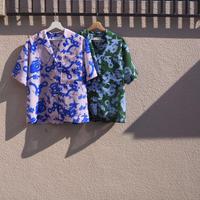 MINJUKIM hawaiian printed shirt