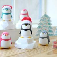 【期間限定】クリスマスアクセサリー付き、インテリアになるペンギンさんのドライバーセット