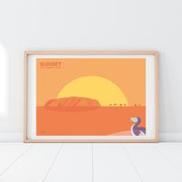 SUNRISE Dodo | A2 Poster