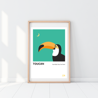 Toucan | A2 Poster