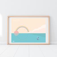SUNRISE Hawaii | A2 Poster