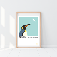 Penguin | A2 Poster
