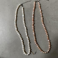Fresh pearl necklace