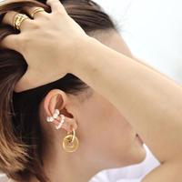 《2SET》 PEARL EAR CUFF