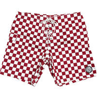 SUNSET 1970'S SURF WEARS / SIDE SLIP SHORTS  / RED CHECKER