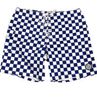 SUNSET 1970'S SURF WEARS / SIDE SLIP SHORT / NAVY CHECKER