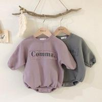 comma裏起毛ロンパース(895)