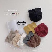8colorねこ耳ニット帽(851)