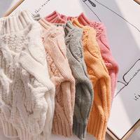 即納*5colorラウンドネックセーター(578)