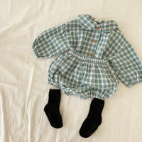 3colorギンガムチェックシャツセットアップ(1071)
