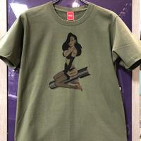 ピンナップガールTシャツ