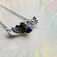 銀の滴ふるふる-アイヌの神謡-梟の神様ネックレス