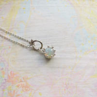Milk Crown Necklace -Opal-