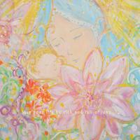 チャリティポストカード /子を抱く聖母マリア