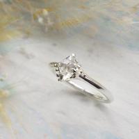 Only One!銀の滴ふるふるハーキマーダイヤモンドリング-8-/Type_A