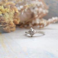 Only One!銀の滴ふるふるハーキマーダイヤモンドリング-8-/SV925