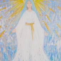 無料ダウンロード/祈る聖母両手を広げる聖母マリア