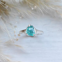 Huruhuru Only One! GemStone Ring/Apatite -8-