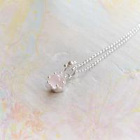 Milk Crown Necklace -Rose-quartz/cabos-