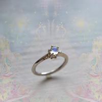 ふるふる『光の滴』Ring-愛とひとつClown Type -/Royal Blue Moon Stone