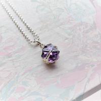 GemStone Necklace  -Ametyst/9-