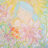 無料ダウンロード/子を抱く聖母マリア