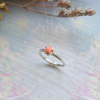 ふるふる『光の滴』Ring-愛とひとつClown Type -  Pink Coral