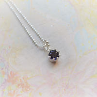 New!Milk Crown Necklace -Iolite/Cut -【Stone完売/入荷待ち】
