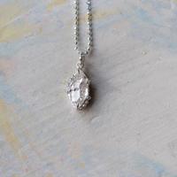 Only One!銀の滴ふるふるハーキマーダイヤモンドユニセックスネックレス-17-/ SV925