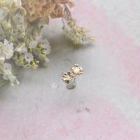 金の滴ふるふる-水桜- ピアス/K10YG