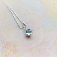 Milk Crown Necklace -BlueTopaz/Cabos -
