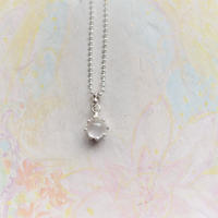 Milk Crown Necklace -moonStone-