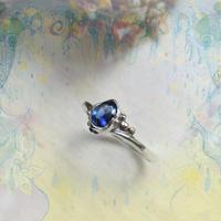 Huruhuru Soranotane Only One! 2021.06   No.8 SV925/K18 Ring -Sapphire/9-
