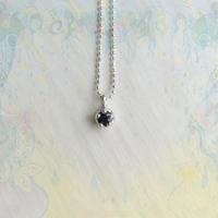 Milk Clown Petit Necklace 2021 /Seeds of change /Sapphire