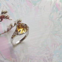 Gemstone Citrine Ring -15-  /'21 soranotane
