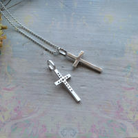 New! 2WAY Cross Pendant Top
