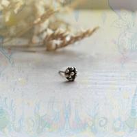 銀の滴ふるふる一粒アンティークピアス -11-/SV925