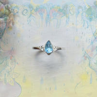 Huruhuru Soranotane Only One! 2021.06 No.11 SV925 Ring -Blue Topaz/6-