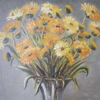 絵 黄色いお花